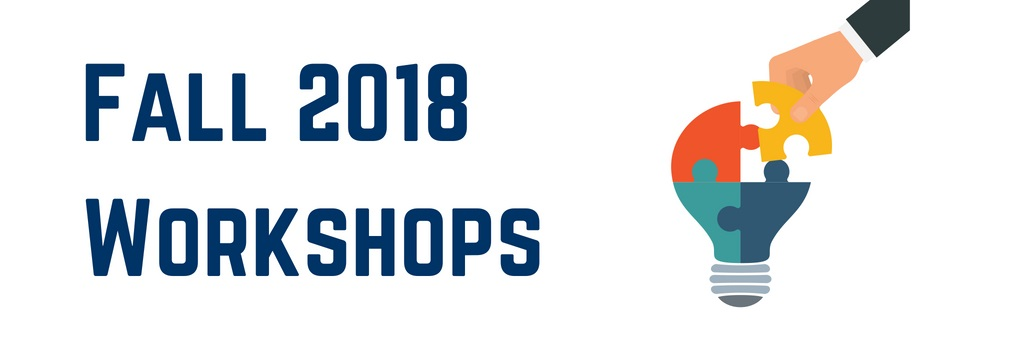 Fall 2018 Library Workshops