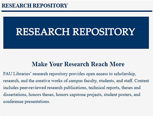 FAU Research Repository