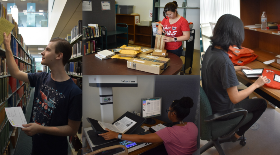 FAU Interlibrary Loan staff work to fill your requests